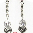 Painful Pleasures BAER039-pair Boundless Bali Sterling Silver Fashion Earrings