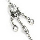 """Painful Pleasures BAN028 Risque Bali Belly Wholesale Body Jewelry 14g 7/16"""""""