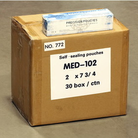 "30 Boxes Of Sterilization Self Seal Autoclave Pouches 2""X7 3/4"" (50Mmx193Mm) - 1 Case"