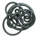 """Painful Pleasures UR252 Spare Black Nitrile O-Rings - 18g-1"""" - Bag of 100"""