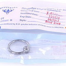 """Painful Pleasures UR270 14g 1/2"""" Stainless Steel Captive Ring"""