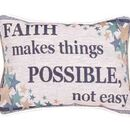 Simply Home Faith Makes... Pillow (P80-FAITH)