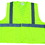 Class 2, ANSI Certified Surveyor Vests, Lime, Small/Medium