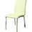 Pastel Furniture JU-110-CH-978 Judith Side Chair In Pu Ivory, Fabric, #978-Pu Ivory
