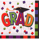 GRAD CAP LUCHEON NAPKINS