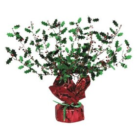 HOLLY & BERRY GLEAM'N BURST CENTERPIECE
