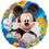 MICKEY MOUSE CLUBHOUSE MYLAR BALLOON