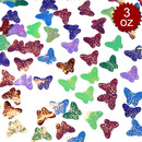 Aspire 6 Packs Butterfly Shaped Party Confetti, Table Confetti DIY Crafts, 3oz, Colorful Decoration for Festival, Props, Wedding, Birthday, Graduation