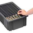 Quantum DL93120CO Conductive Dividable Grid Container Long Dividers (Divider for DG93120CO)
