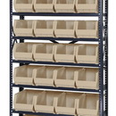 Quantum QSBU-240 Stack and Hang Bin Steel Shelving Systems (Outside Dimensions: 12