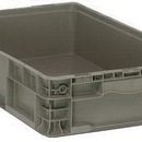 Quantum RSO2415-5 Stackers - Heavy Duty Straight Wall Stacking Containers (Outside Dimensions: 24