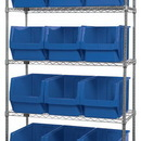 Quantum WR5-533 MAGNUM Wire Shelving Systems (Outside Dimensions: 42