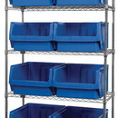 Quantum WR5-543 MAGNUM Wire Shelving Systems (Outside Dimensions: 42