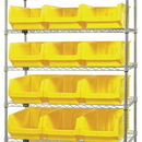 Quantum WR7-532 MAGNUM Wire Shelving Systems (Outside Dimensions: 42