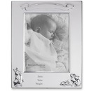 Reed & Barton 865289 Personalized Bunny Pewter Birth Record 5