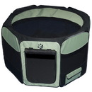 Pet Gear TL4129SG Travel Lite Soft-Sided Pet Pen - Small/Sage