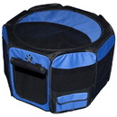 Pet Gear TL4136OB Travel Lite Soft-Sided Pet Pen - Medium/Ocean Blue