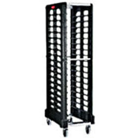 Rubbermaid FG331700BLA Max System Rack (18 slot end loader for full size insert pans), Black