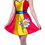 Rasta Imposta 6464 Pop Art Girl Dress and headband