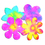 Roylco R2440 Color Diffusing Paper Flowers