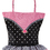 Sassi Designs NOR-08  Tutu Tote - Small Tote With Embroidered Dancer