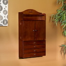 Holly & Martin 57-095-059-3-05 Evangeline Wall-Mount Jewelry Armoire