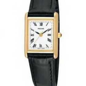 Ladies Pulsar Dress Watch w/ Rectangle Face, Price/piece