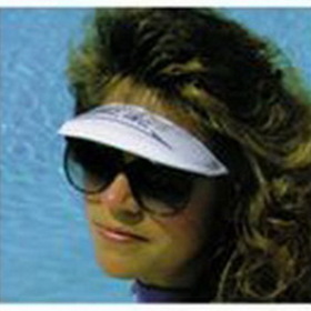 Lightweight Eyeglass Visor - Screen Print, Price/piece