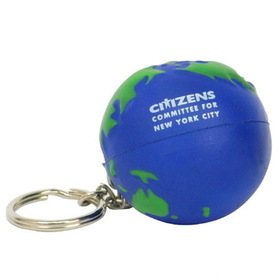 Earth Ball Key Chain/ Stress Toy, Price/piece