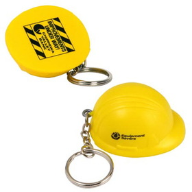 Hard Hat Key Chain/ Stress Toy, Price/piece