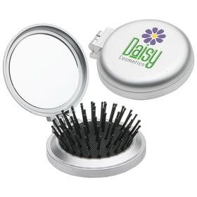 Travel Disk Brush & Mirror, Price/piece