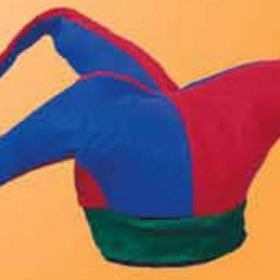 Felt Jester Oversized Novelty Hat, Price/piece