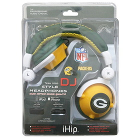 NFL Team Logo DJ Headphone - Green Bay Packers