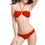 TopTie Bikini Set, Double String Back Top and Classic Bottom