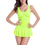 TopTie Ruffle One Piece Swimwear, Dress Style