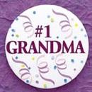 Simply Charming BG653 Grandma Button