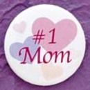 Simply Charming BM659 #1 Mom Button
