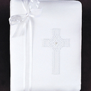 Simply Charming BPA875 White Satin w/ Cross