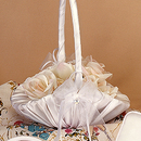 Simply Charming FGB829 Basket, Satin Crystal Heart