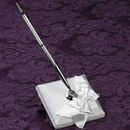Simply Charming GP580 White Silk Guest Pen with Silk White Bow