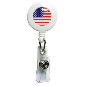Baumgartens American Flag Design Card Reel, 1 Each, Price/EA