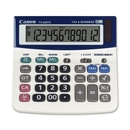 "Canon TX220TS Desktop Tilt Calculator, 12 Character(s) - Battery/Solar Powered - 1.2"" x 5.6"" x 5.6"""
