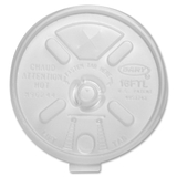 Dart Translucent Lift n' Lock With Straw Slot Coffee Cup Lids, Round, Price/CT