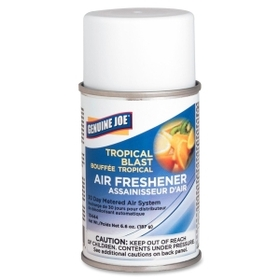 Genuine Joe Metered Air Freshener, Aerosol - Tropical Blast - 30 Day, Price/EA