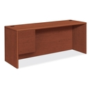 HON 10700 Series Single Left Pedestal Credenza, 72