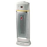 Honeywell HZ-3750GP Easy-Glide Digital Tower Ceramic Heater, Ceramic - Electric, Price/EA