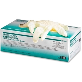 Kimberly-Clark Examination Gloves, Medium Size - Powder-free, Textured - Latex - 100 / Box, Price/BX