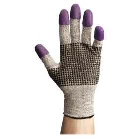 Kleenguard Work Gloves, Medium Size - Ambidextrous, Cut Resistant - Nitrile - 2 / Pair - Purple, Price/PR
