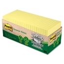 Post-it Cabinet Pack Note, Self-adhesive, Repositionable - 3