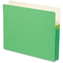 Smead 73216 Green Colored File Pockets, Letter - 8.50